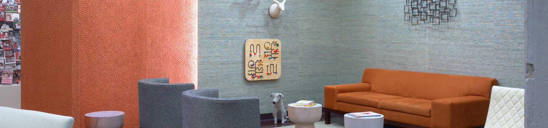 Waiting room interior